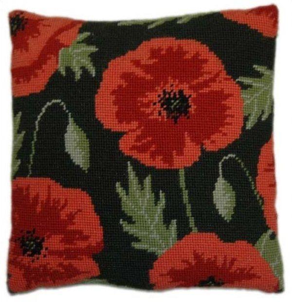 Needlepoint Herb Pillows