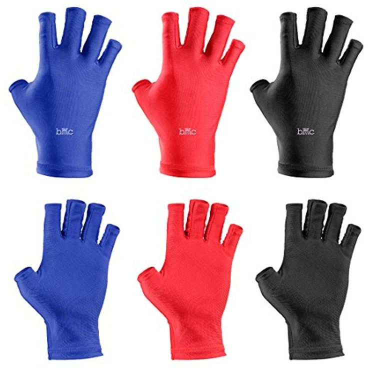 BMC 3pk of Nail Salon Anti-UV Protection Gloves for LED UV Gel Polish Drying Lamp * Click image to review more details. (This is an affiliate link and I receive a commission for the sales)