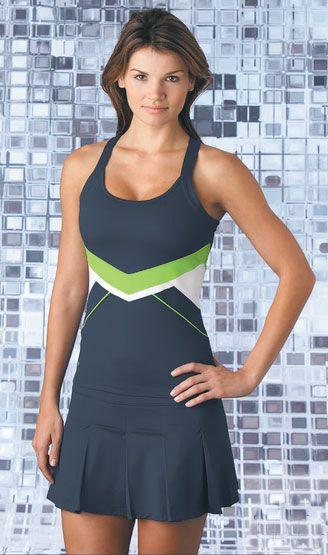 Bolle Ladies Tennis Outfit (Top & Skort)