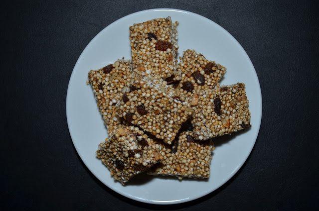 Mlsná máma : Quinoa müsli tyčinky