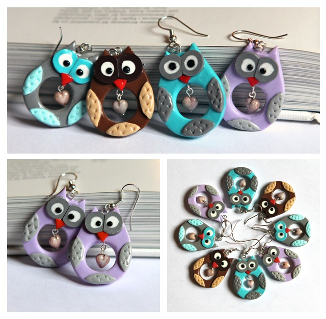 HooT HooT family :) I got all my sisters with me We are family Get up ev'rybody and sing - by GirlyMood #polymerclay