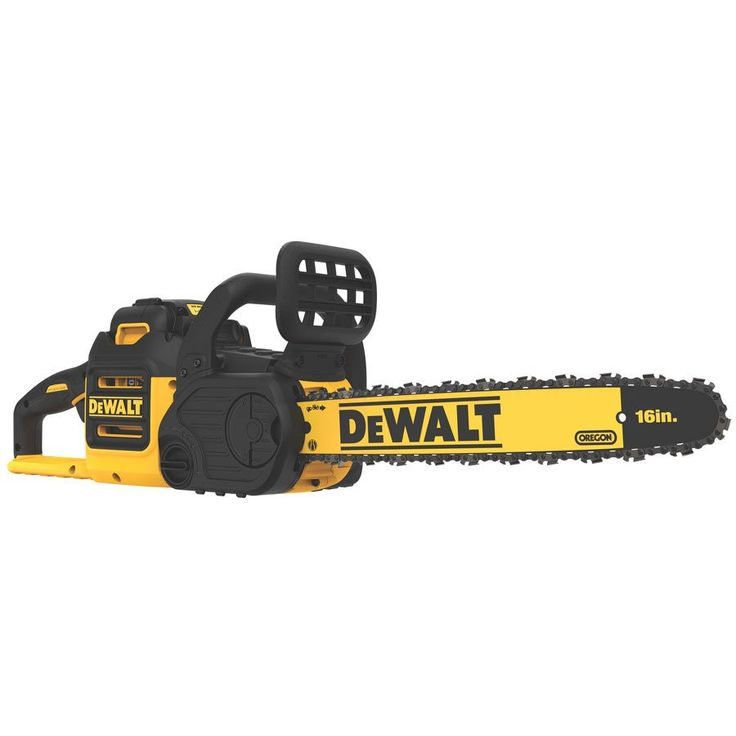 DEWALT DCCS690M1 40-Volt MAX* Lithium-Ion XR Brushless 16-in Cordless Electric Chainsaw | Lowe's Canada