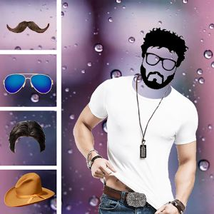 Man Suit Photo Editor 2018:Fancy Hairstyle Beard  Men fashion suit photo editor app has more than 200 man suits, man hairstyle, man beard style mustache style, and cap for man, sunglasses and many more. With the help of Man suit photo editor 2018-fancy hairstyle, beard app one will be enable to decorate photo with new man suit, new hairstyles, beard styles, sunglasses and mustache styles every day.