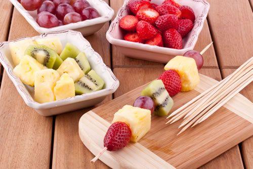 Fruit Kebabs - Tu B'Shevat Recipes - Jewish Kids