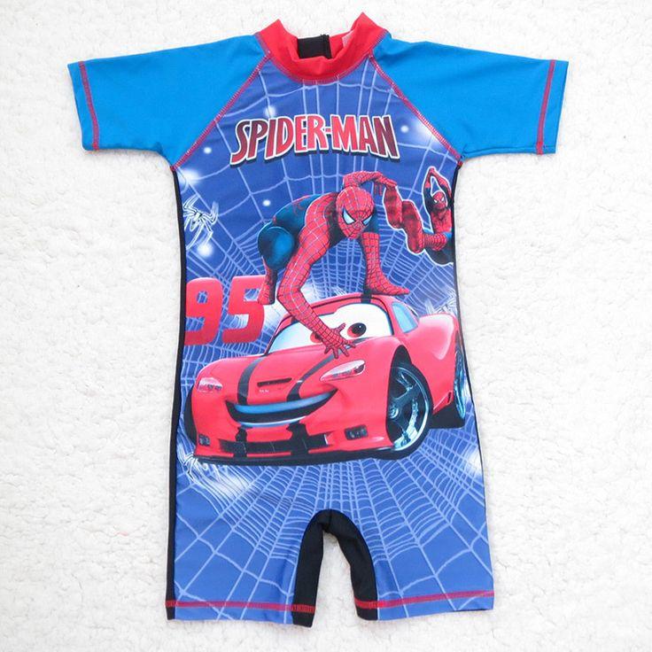 Паук спортивный топ мальчики ультрафиолетовый купальный костюм дети купальники мальчики плавание мальчики-младенцы плавание костюмы мальчики сыпь углозащитные дети плавание костюм