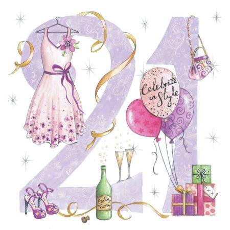 Di Brookes - DBr_21st_Female_Card