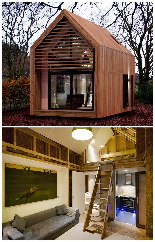 Minimalist house prefabs uk based dwell petite places for Minimalist house pinterest