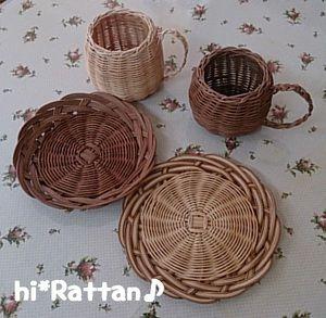 籐カゴ(ё_ё)hi*Rattan♪:籐カゴ教室in読谷