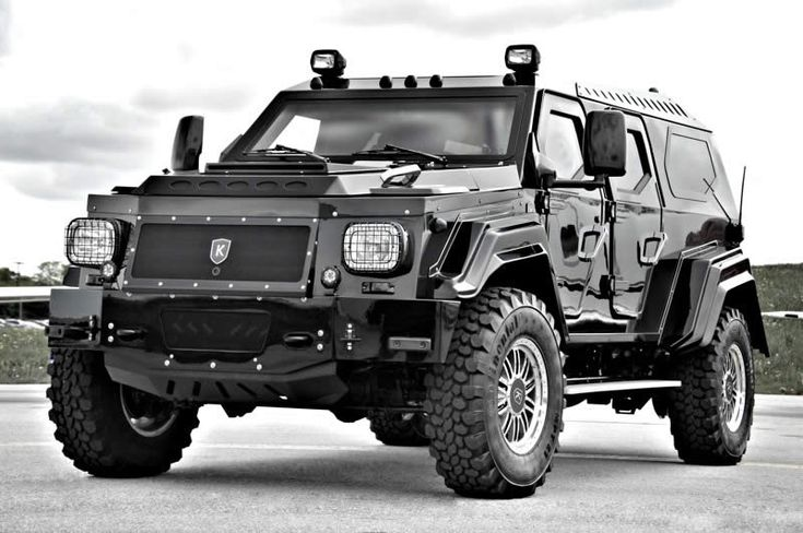 Knight XV Fully Armored SUV