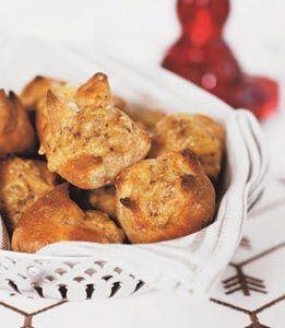 Kuvertbröd med kummin och Västerbottensost® #recept #norrmejerier #vasterbottensost