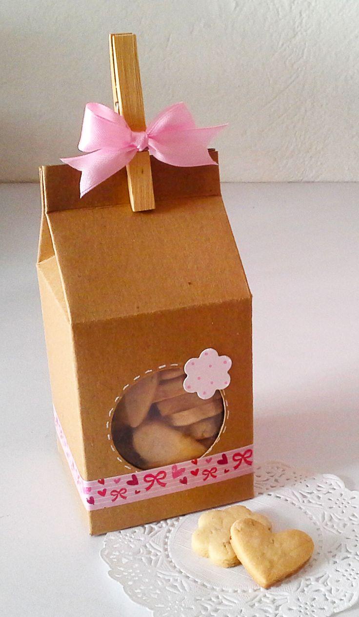Resultado de imagen para cajitas con galletas