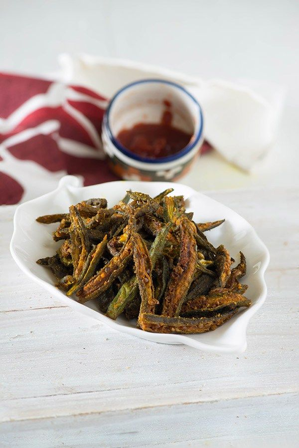 How to make Kurkuri bhindi, step by step Kurkuri Bhindi recipe video in hindi, How to make bhindi fry, Crispy fried okra recipe, Kurkuri bhindi non fried