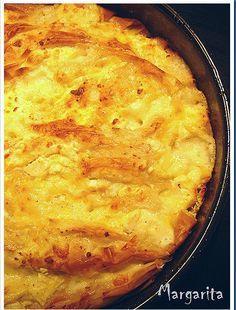 Απλή,γευστική και τέλεια…  Υλικά  500 γρ. φύλλα κρούστας 150 γρ. βούτυρο λιωμένο 300 γρ. τυρί 200 γρ. μοτσαρέλα μπαλίτσες κομμένες στην μέση...