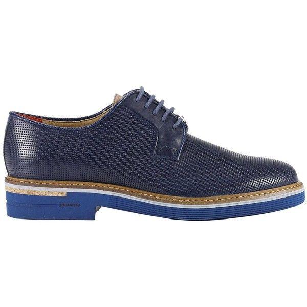 Brogue Shoes Shoes Men Brimarts ($175) ❤ liked on Polyvore featuring men's fashion, men's shoes, men's oxfords, navy, navy blue mens shoes, mens brogues, mens navy shoes, mens shoes and mens brogue shoes