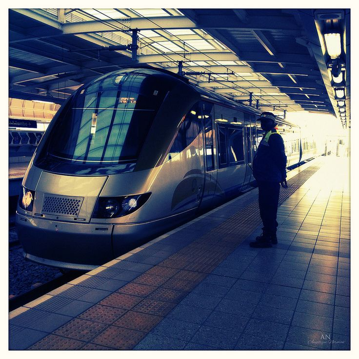 Gautrain at the OR Thambo airport.