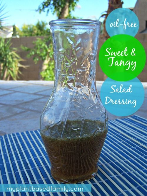 Holly's House Dressing (Sweet & Tangy Oil-Free Salad Dressing)