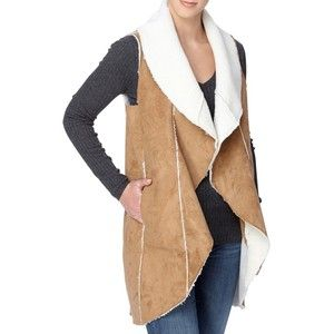 Women's Catherine Catherine Malandrino Leonide Faux Shearling Vest