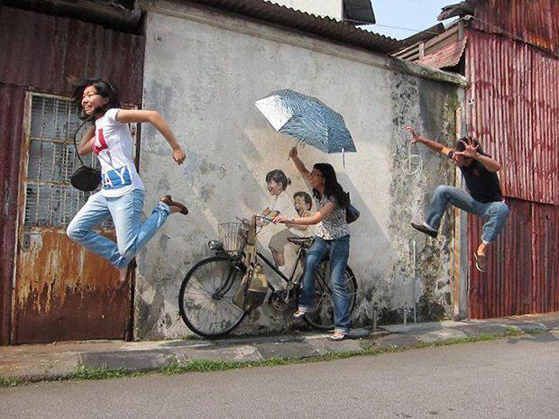 Ernest Zacharevic - street artist - Google Search
