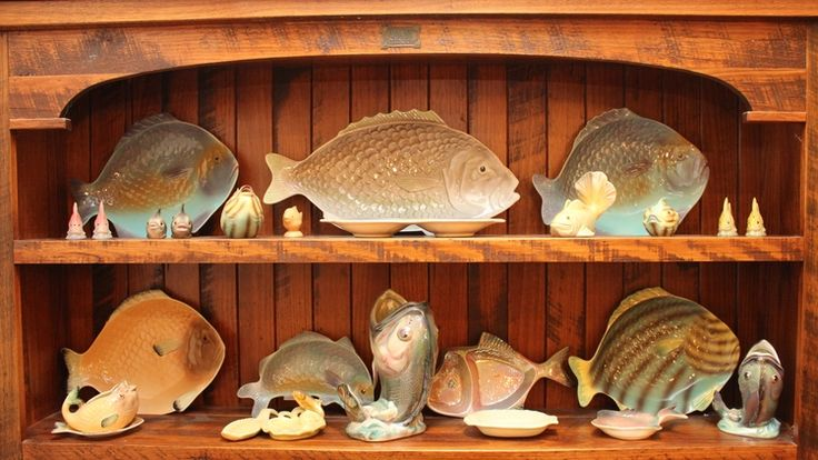 Vintage Fish Plate Collection
