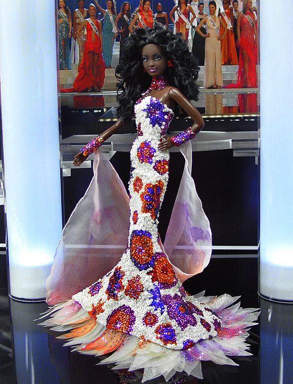 OOAK Barbie NiniMomo's Miss Haiti 2011