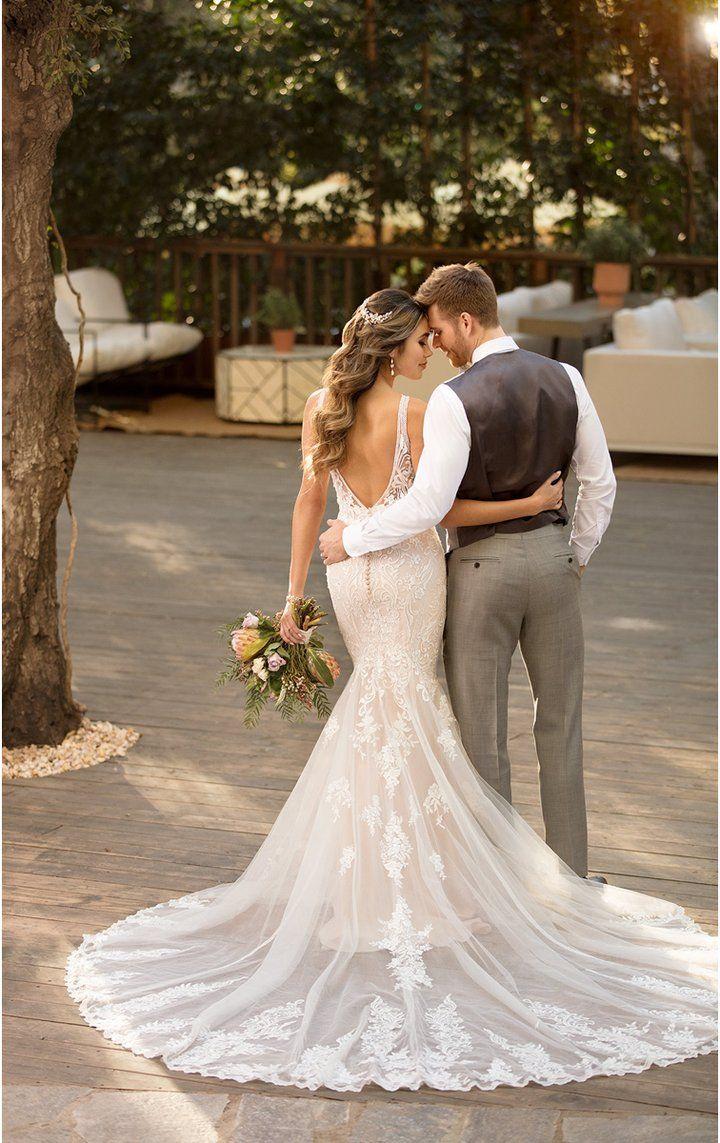 D2775 Essense Of Australia Wedding Dresses Short Wedding Dress Wedding Dresses [ 1143 x 720 Pixel ]