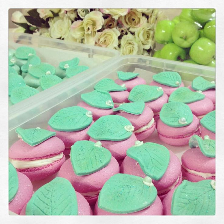 Macaroons - apple of our eye