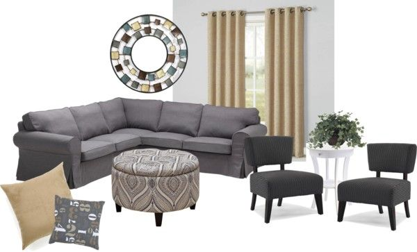 Decorating Ideas - Tan and Charcoal Color Schemes - MiscFinds4u