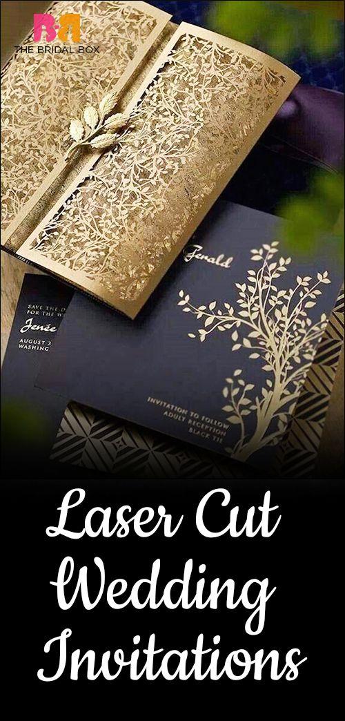10 Of The Best Laser Cut Wedding Invitations
