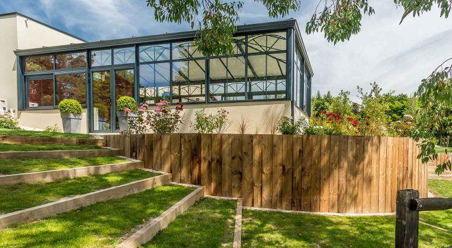 3 Moyens D Apprivoiser Un Jardin En Pente Jardin En Pente Amenagement Jardin En Pente Et Jardins