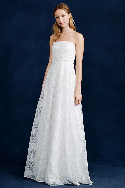 J.Crew 2015春季婚紗禮服系列:用簡約素雅承載幸福時刻