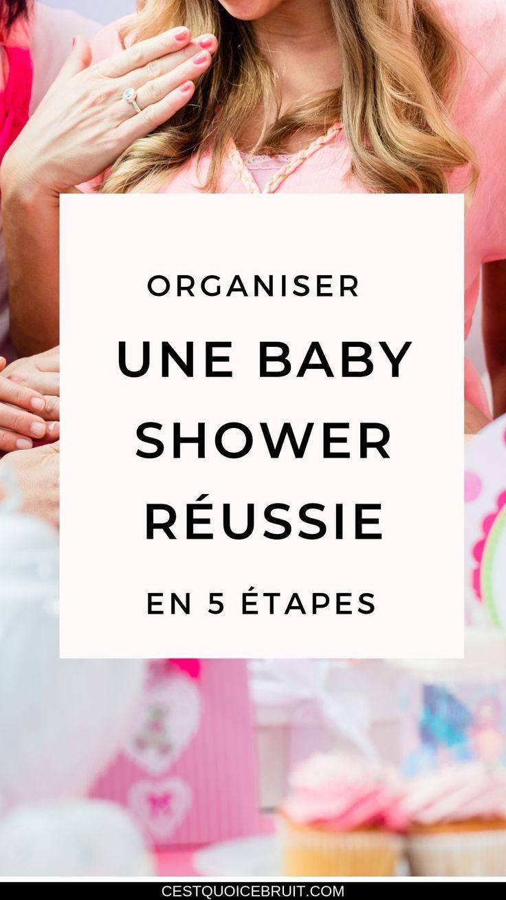 Baby Shower Cadeau Futur Maman organiser une baby shower réussie en 5 étapes | organiser