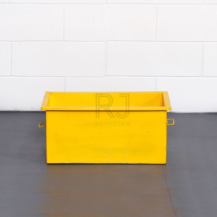 Cooper Storage Box - Yellow | $39.00
