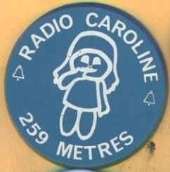 Caroline badge,1974
