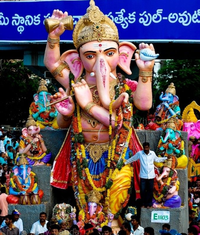 Ganesh festival Pune  - Maharashtra - India