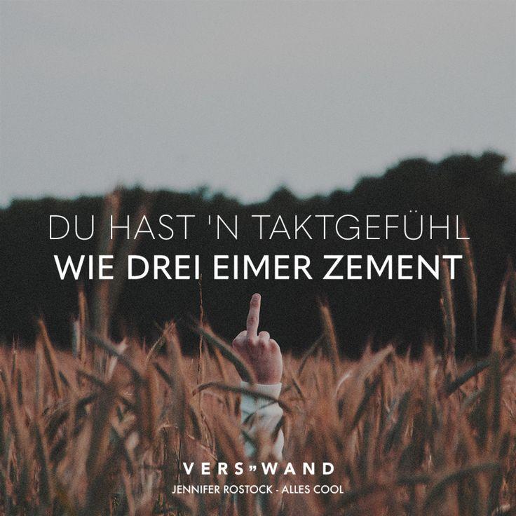 Du hast'n Taktgefühl wie drei Eimer Zement – Jennifer Rostock – Nati . . .