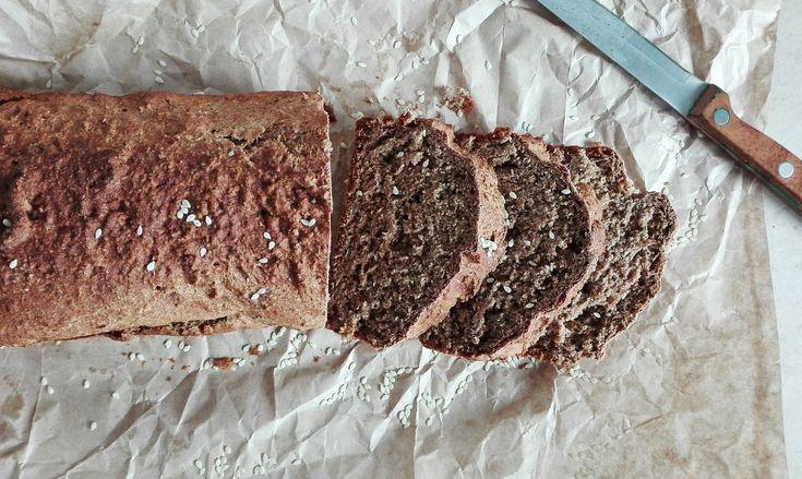 Хлеб из спельты. Без дрожжей. Веганский / Веган хляб от спелта. Без мая.