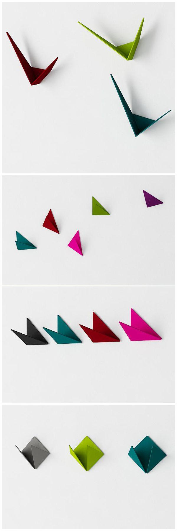 zginamy i doginamy blachę #metal #coat #hangers #kosicka #design #moderndesign #origami #kosickadesign