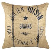 Found it at Wayfair - Grainsack Burlap Throw Pillow