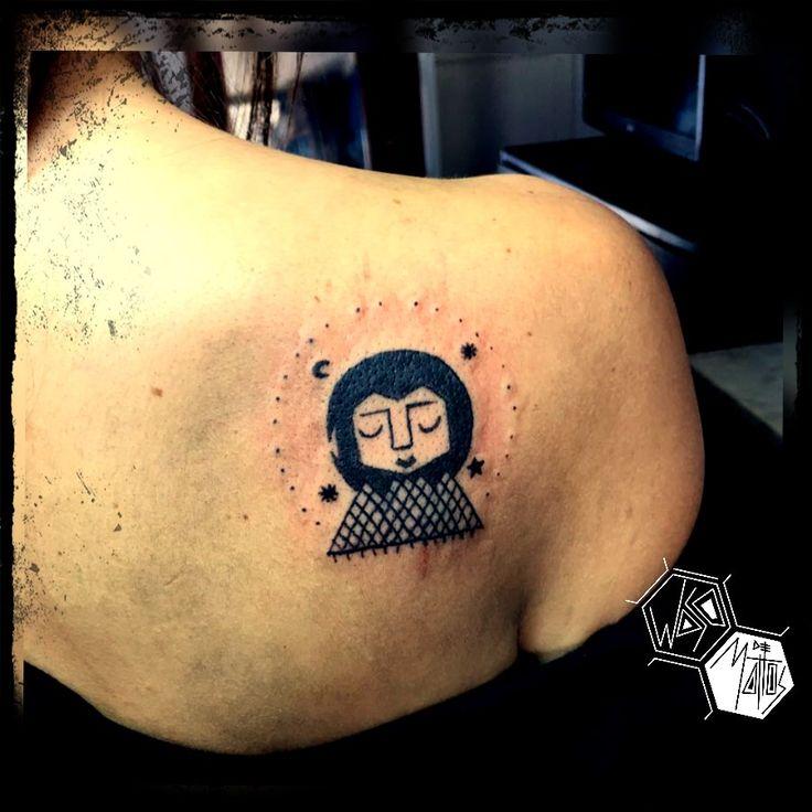 #tattoo #tattooart #tattoogirl #blacktattoo #tatuaje #ink #inkgirl #art #arte #artista #tattooartist #tattooarte #chile #wasodemattos