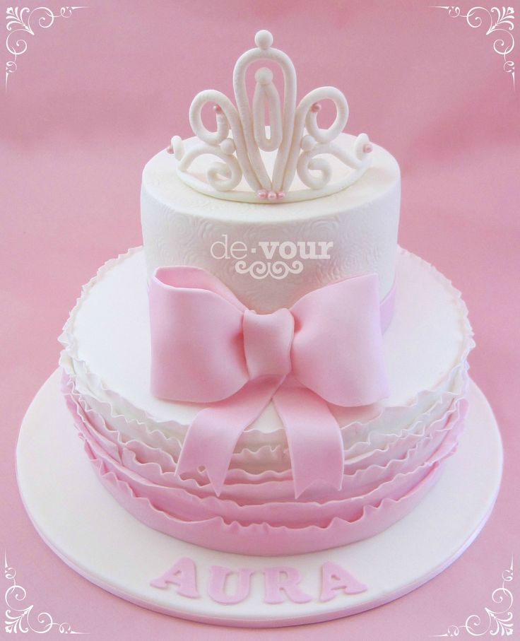 Cake Designs With Crown : 80 best tiara-crown images on Pinterest Pillow cakes ...