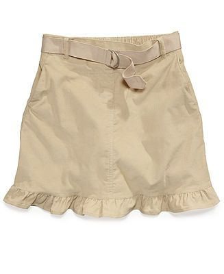 Nautica Kids Skirts, Little Girls Ruffled Corduroy Uniform Scooter - Kids School Uniforms - Macy's