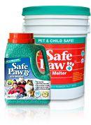 Safe Paw Jug & Pail | Pet-safe ice melt