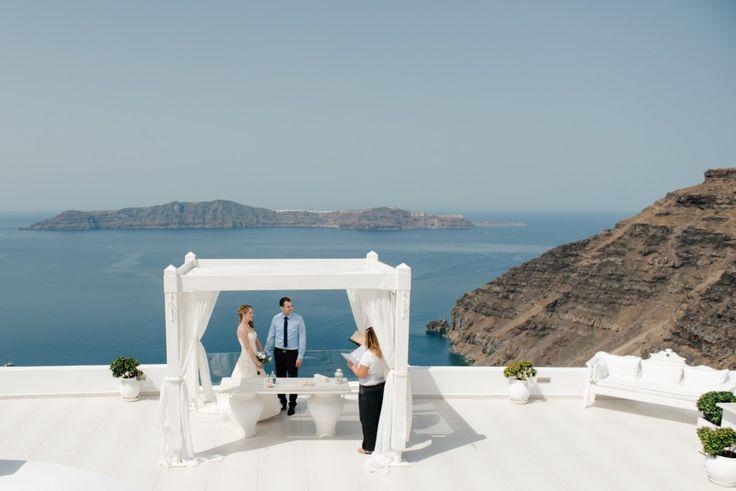 Santorini Wedding Ceremony   Photographer Teodora Simon