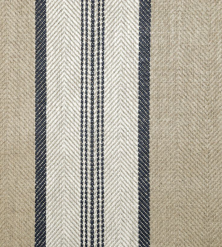 Design Classics | Nautical | Troon Fabric by Ian Mankin | Jane Clayton