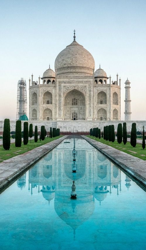 Travel to India is very popular among tourists because it features a diverse array of cultural, historical and architectural attractions. The Taj Mahal is among the most famous.