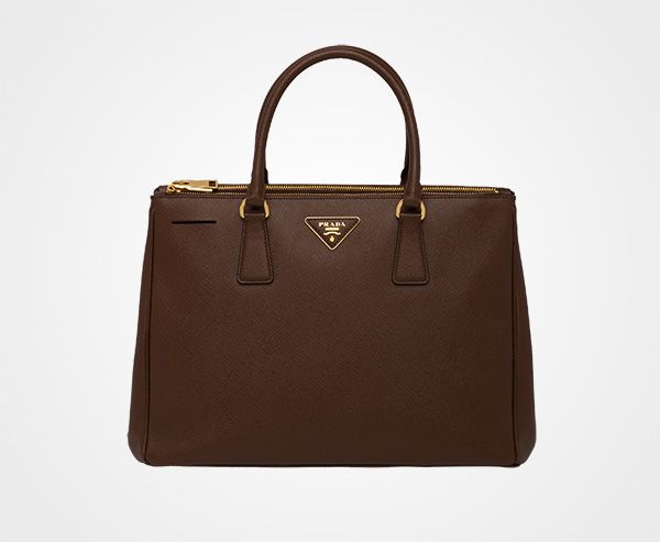 fa4b40b3f440 Prada Galleria Saffiano Leather Bag in Cocoa brown