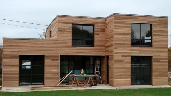 Maison en bois r alis e par you en loire atlantique 44 for Agrandissement maison loire atlantique