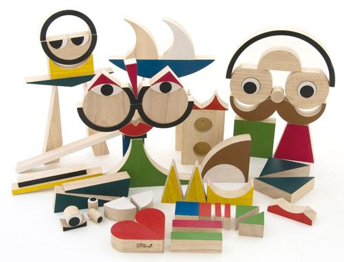 Miller Good­man recently launched a cool col­lec­tion of blocks called PlayShapes. The set con­sists of 74 geo­met­ric wooden shapes crafted in rub­ber­wood: Kids Stuff, Wooden Toys, 74 Wooden, Miller Goodman, Wooden Blocks, Goodman Playshap, Plays Shapes, Products, Millergoodman
