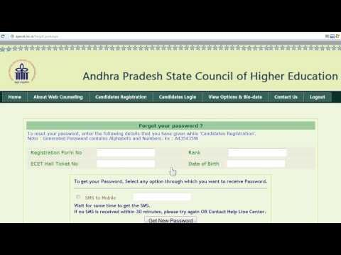 How To Reset Your ECET [FDH & B.SC(Mathematics)] Forgotten Online Counseling Login Password http://www.youtube.com/watch?v=2R6c2Lcj0lU    #StudyBucket #Education #Organization #Television #Videos #Tutorials #India #AndhraPradesh #Featured #Apsche #ECET #Engineering #Counseling