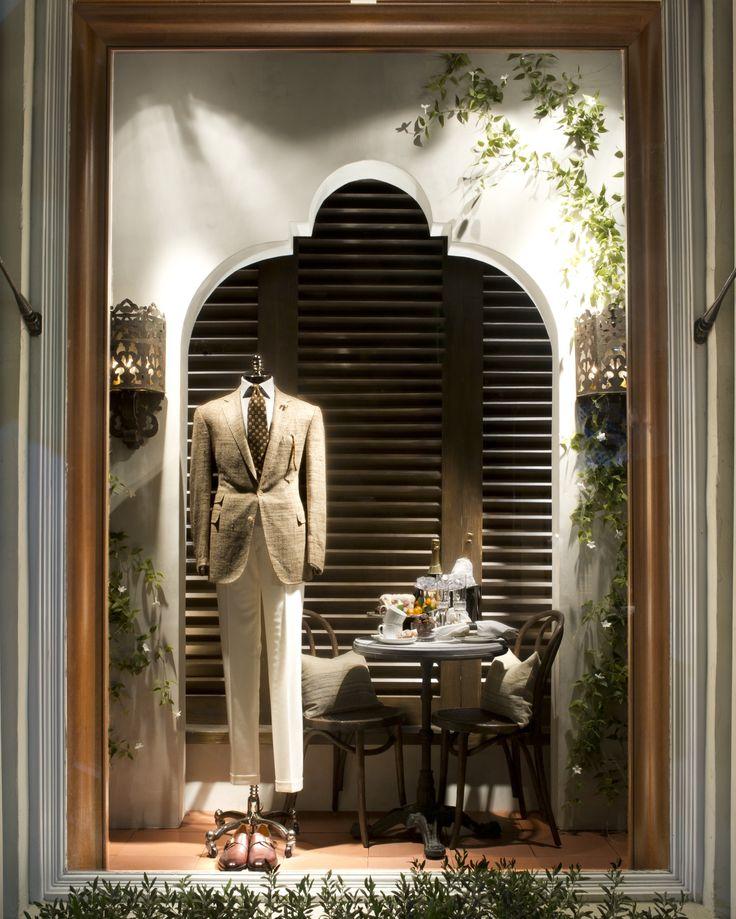 Ralph Lauren Beverly Hills Men's Purple Label Spring 2015 Window 3